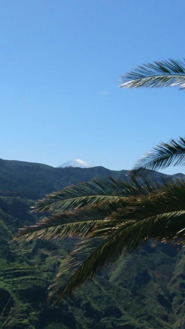 Weitblick auf den Pico del Teide