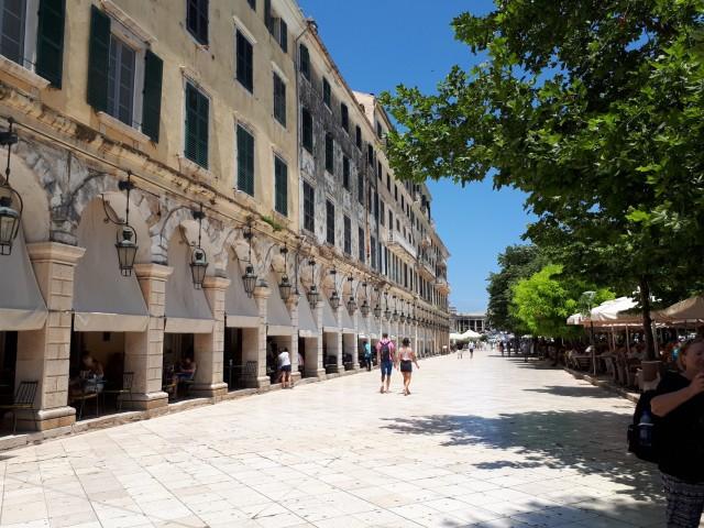 Promenade von Kerkyra