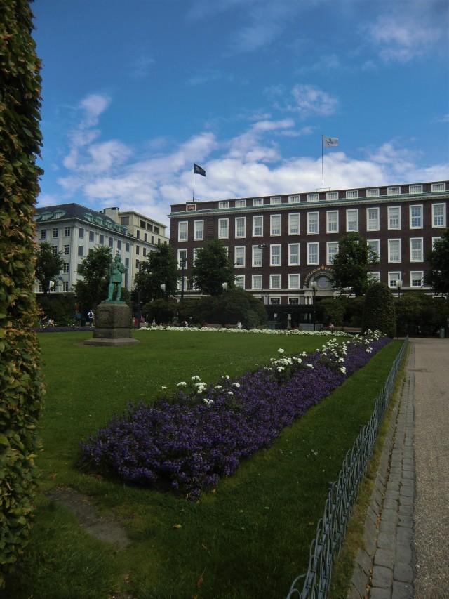 Stadtpark in Bergen