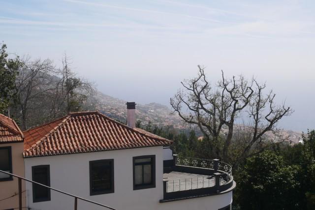 Aussicht vom Berg Monte - Funchal