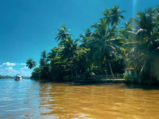 Bootsausflug auf Sri Lanka