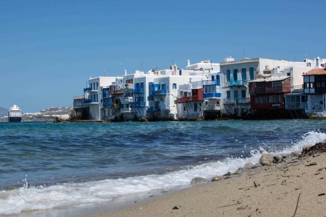 Strand auf Mykonos