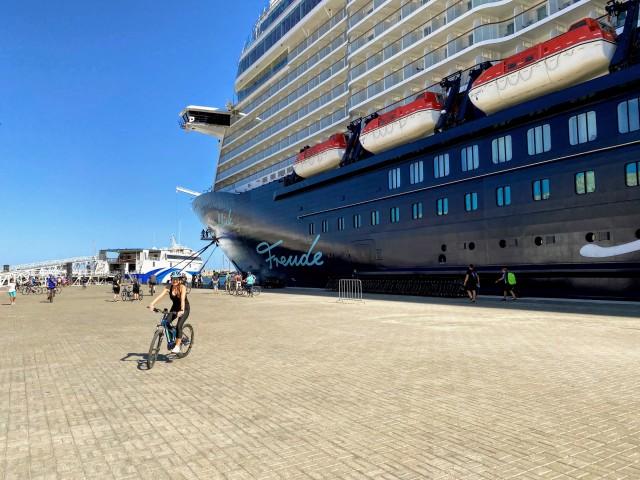 Per Bike auf Ausflug