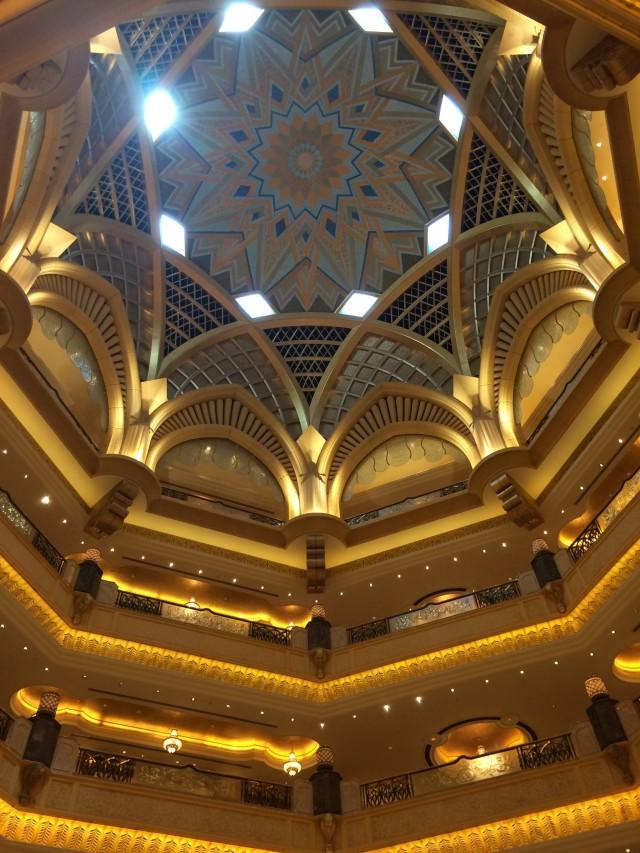 Im Hotel Emirates Palace