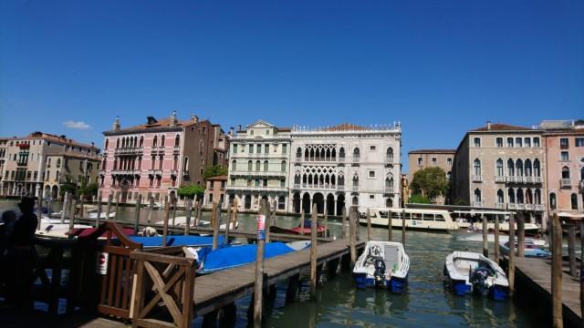 Venedig bei Sonnenschein