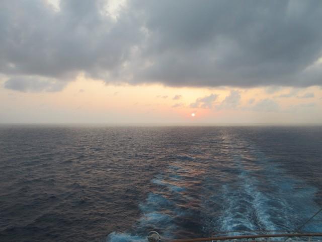 Ein letztes Mal Sonnenuntergang