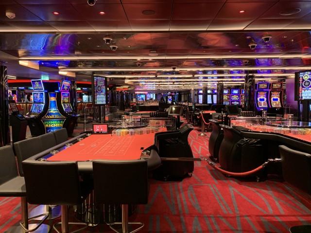 Casino auf der MSC Grandiosa