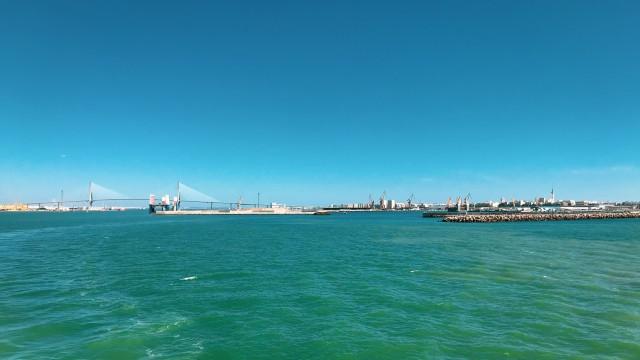 Auslaufen aus Cádiz
