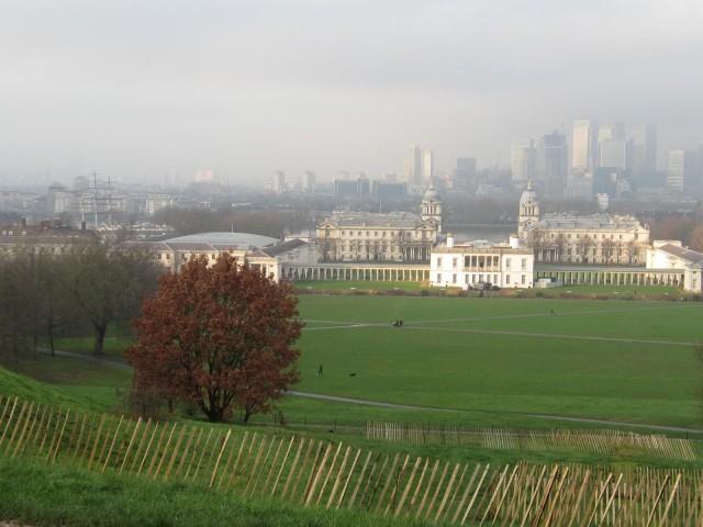 Blick über Greenwich Park