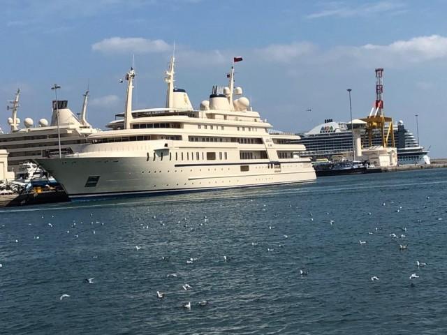 Hafen von Muscat Oman