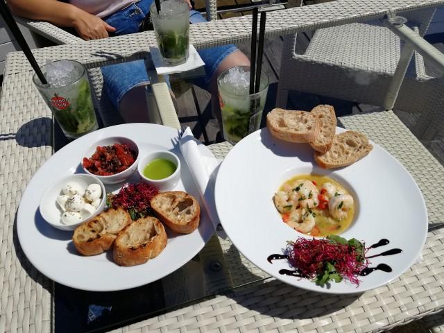Kulinarischer Genuss am Strand