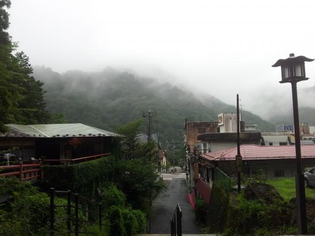 Die Stadt im Nebel - Nikkō