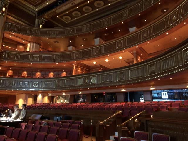Im Inneren des Royal Opera House Muscat