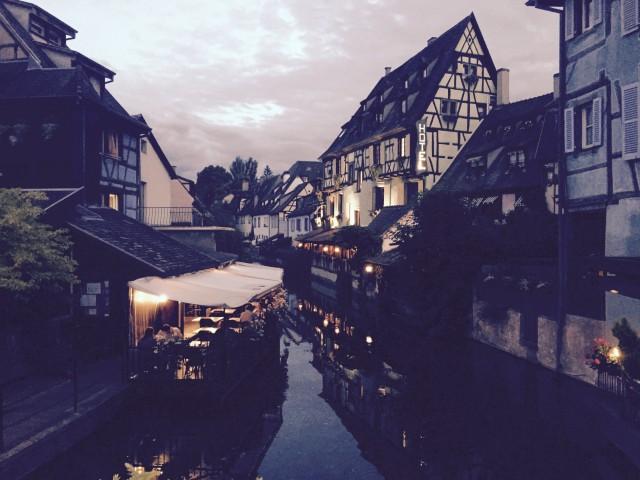 Abendstimmung in Colmar