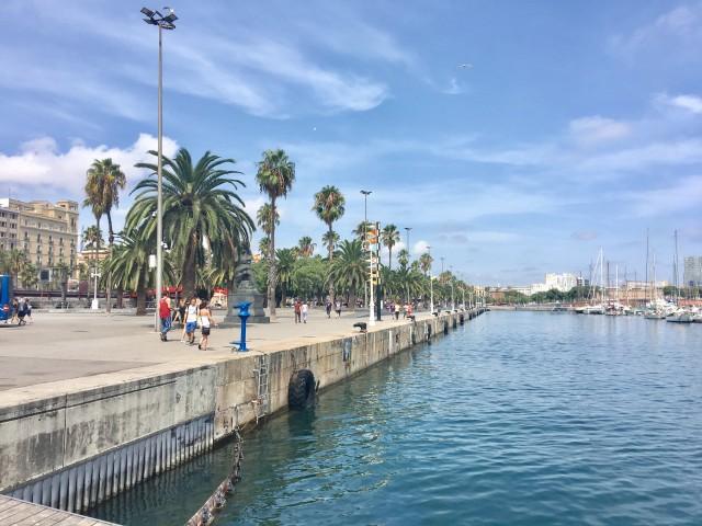 Port Vell - der alte Hafen