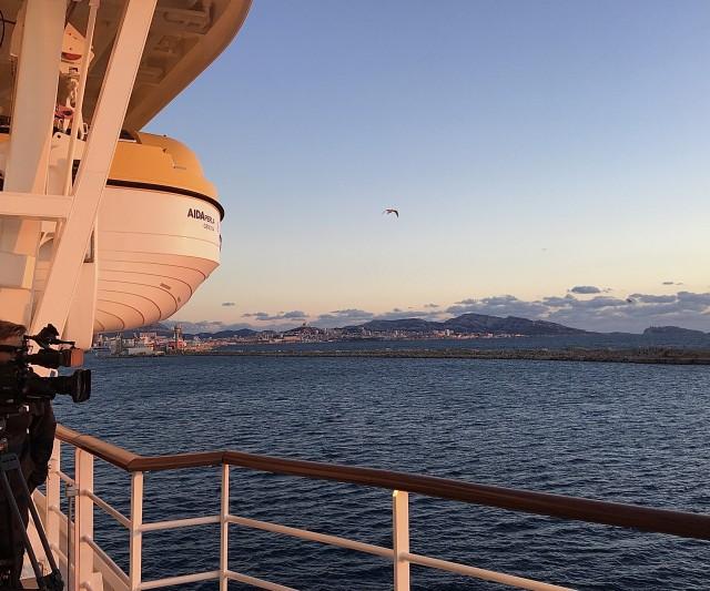 Sail-away aus Marseille