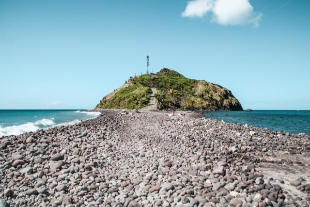 Da wo der Atlantik auf das karibische Meer trifft
