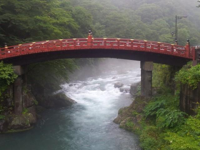 Die Shinkyo-Brücke