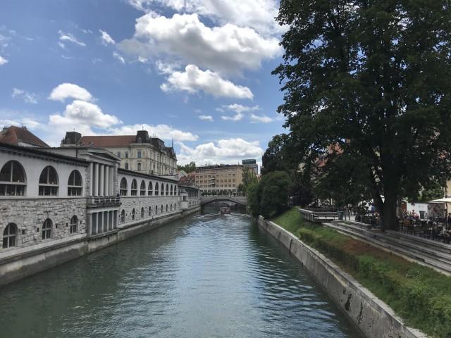 Sommer in Ljublijana
