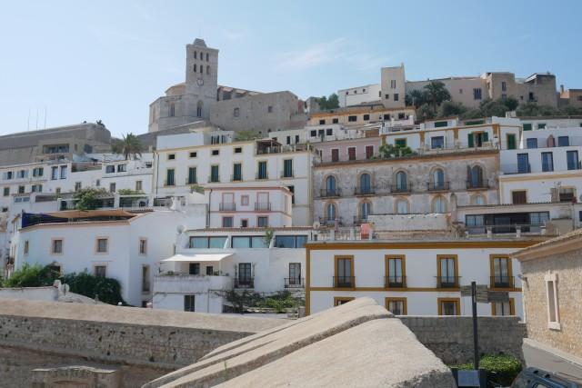 Ibiza-Stadt mit Festung