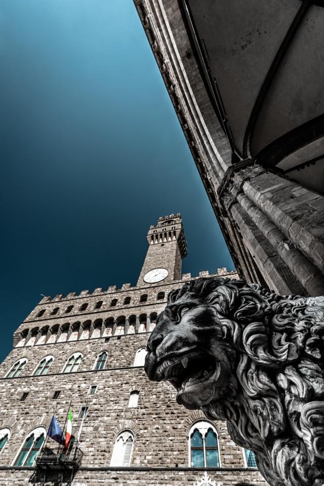 Palazzo Vecchio - Palast aus der Vergangenheit