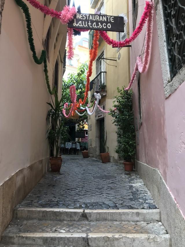 Kleine Gassen in Lissabon