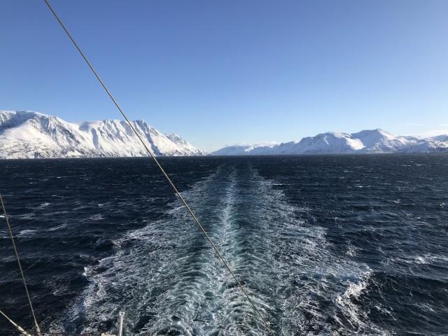 Mit AIDAaura durch den Altafjord