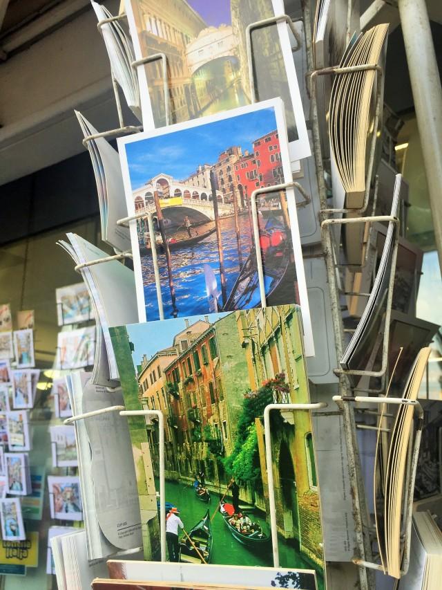 Postkarten von Venedig