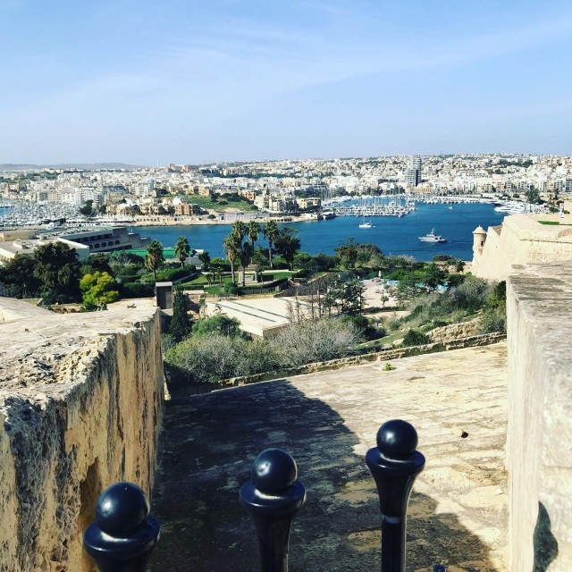 Valetta - Blick von der alten Festung
