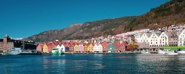 Promenade in Bergen