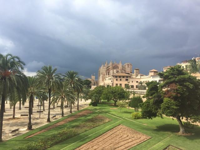 Parkanlage Palma de Mallorca