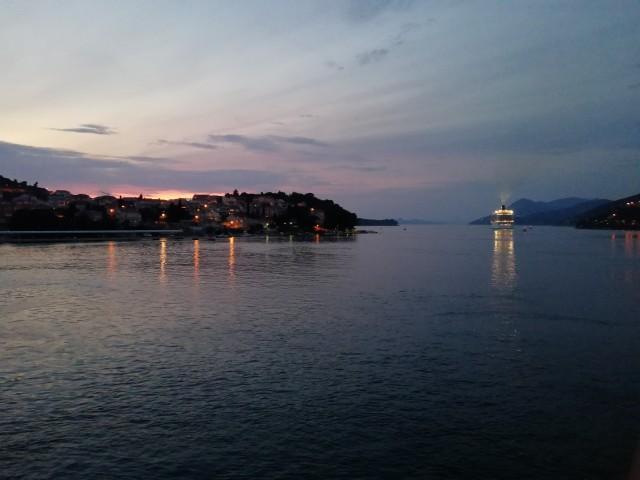 Auslaufen aus Dubrovnik