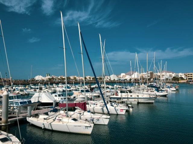 Der Hafen von Arrecife