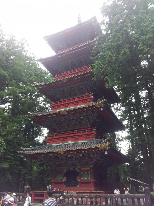 Der Nikkō Tōshō-gū Schrein
