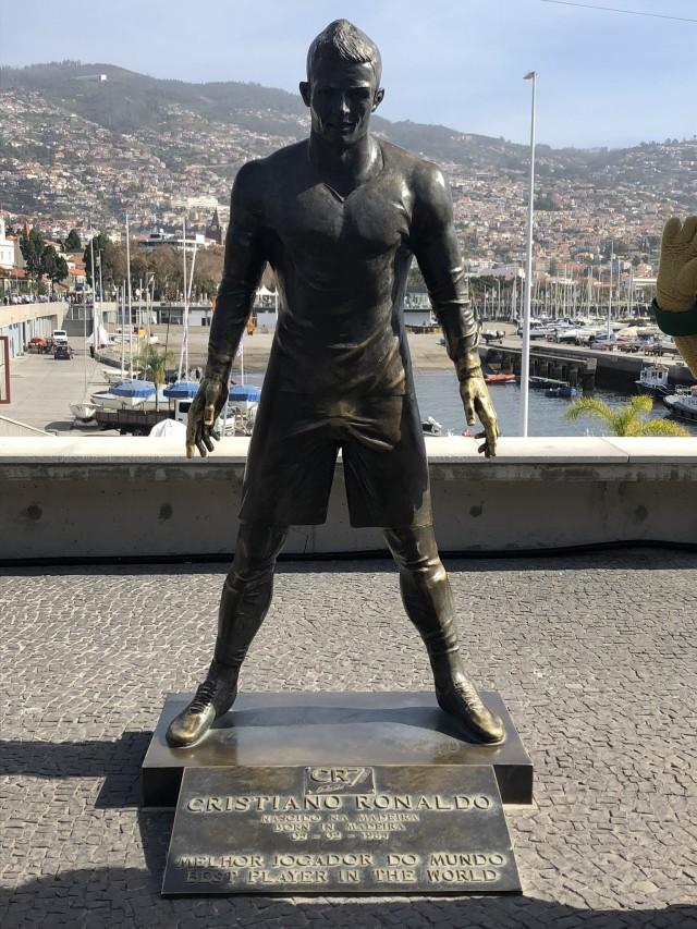 Cristiano Ronaldo auf Madeira
