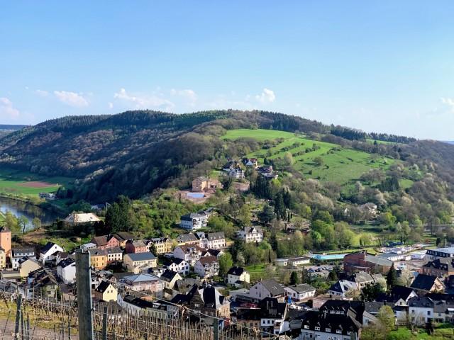Saarburg von oben