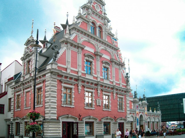 Deutsche Architektur in Riga