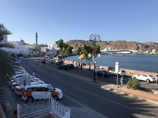 Promenade in Muscat