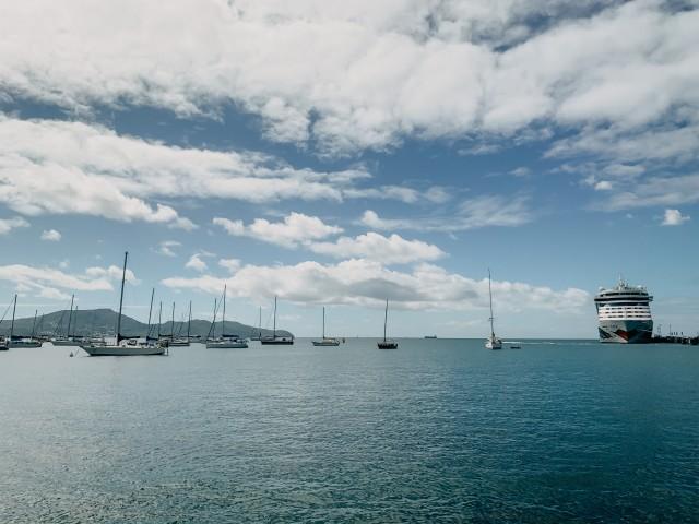 Martinique mit AIDAluna