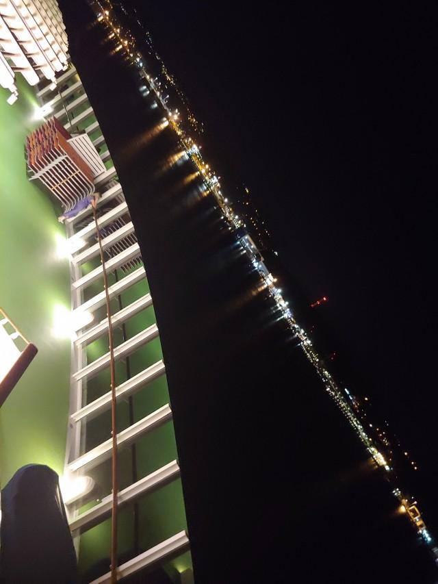 Traumhafte Aussicht bei Nacht