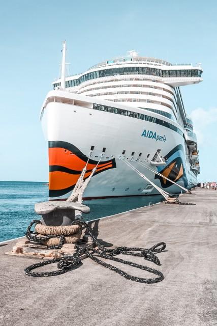 AIDAperla in der Karibik