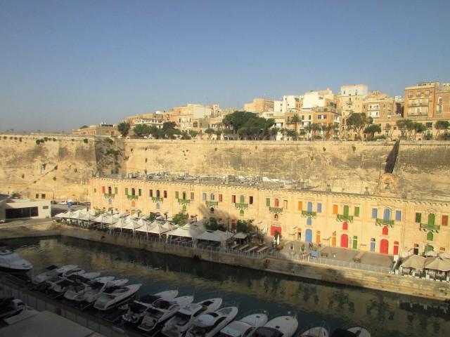 Der Hafen von Valletta