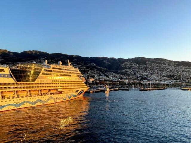 Kussmund im Hafen