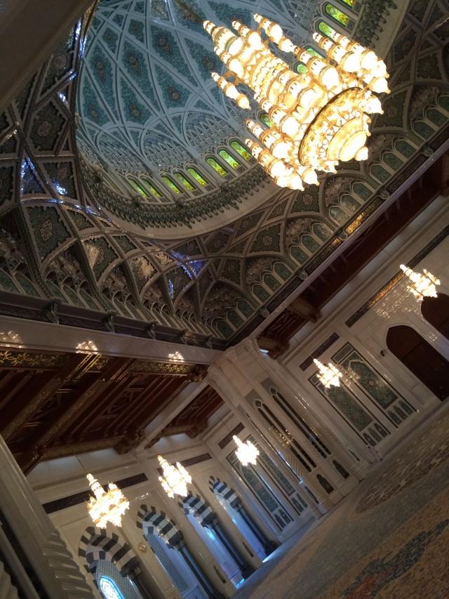 Das Innere der großen Moschee