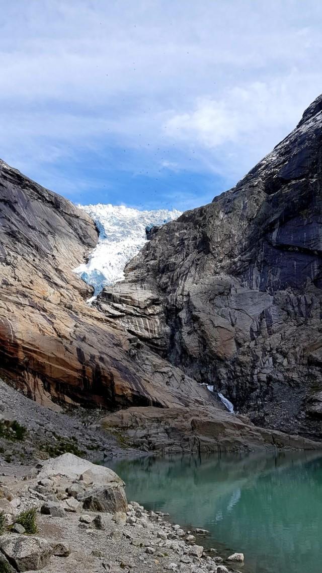 Bestes Wetter am Gletscher