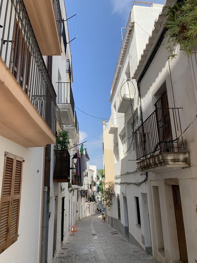 In den Straßen von Ibiza