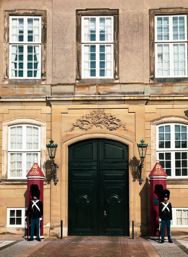 Wachablösung Schloss Amalienborg