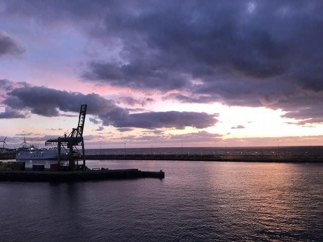 Sonnenaufgang vor Arrecife 1