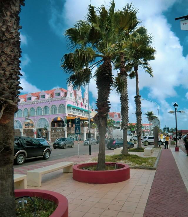 Wunderschönes Oranjestad