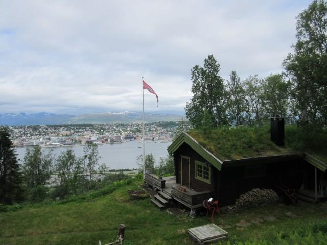 Blick auf Tromso